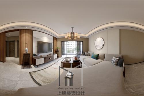 汉府新中式客厅